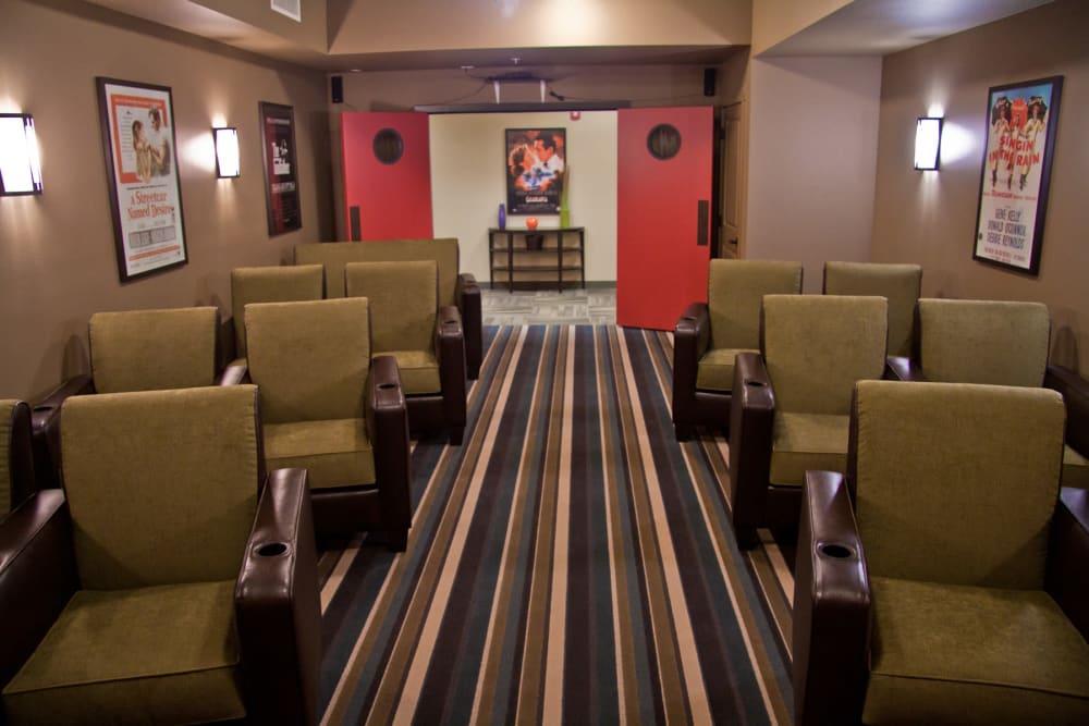 Movie theater at Affinity At Walla Walla in Washington