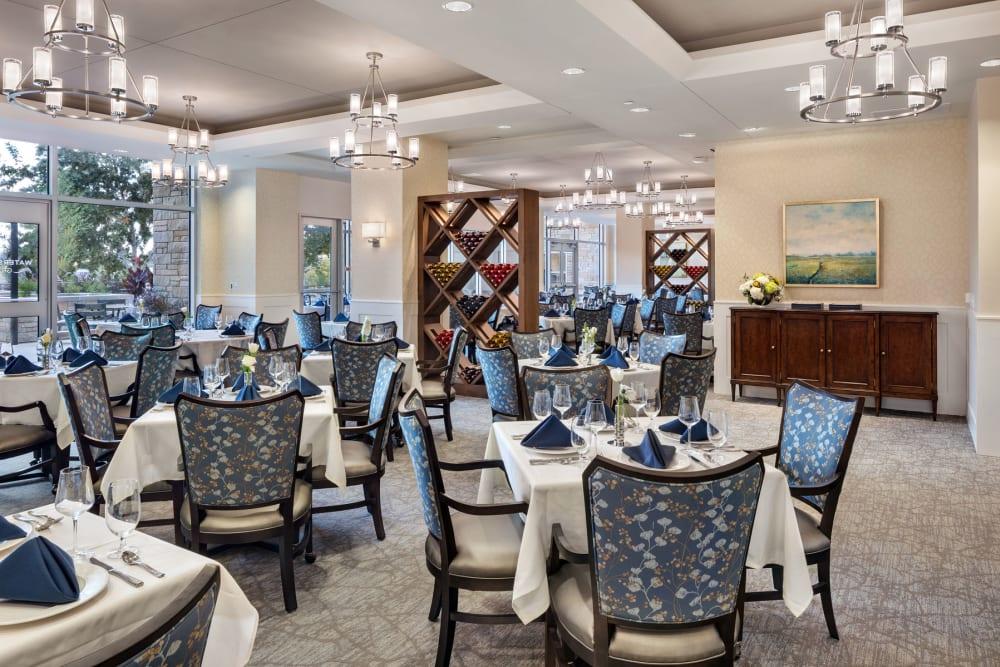 large elegant dining room
