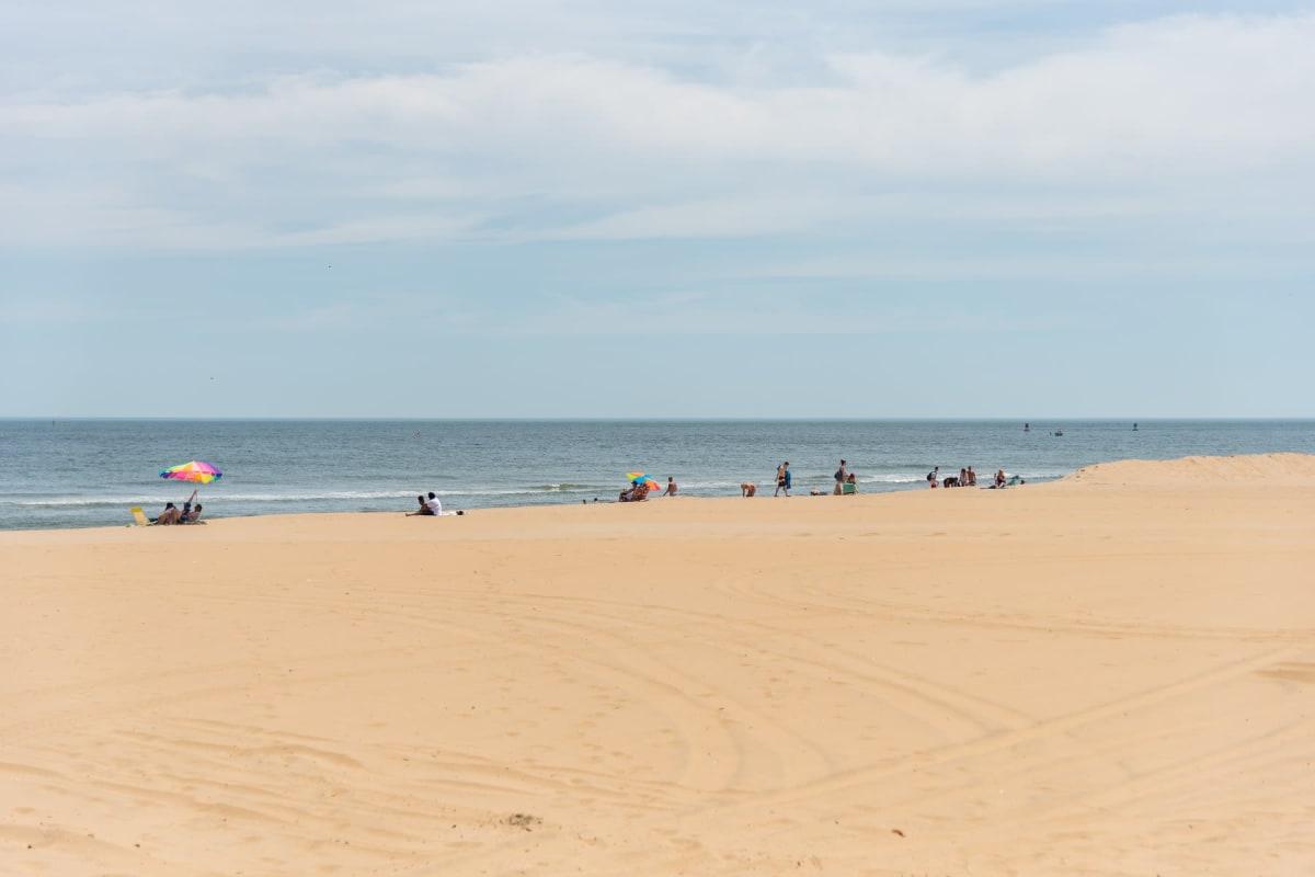 Beach near Indigo 19 in Virginia Beach, Virginia