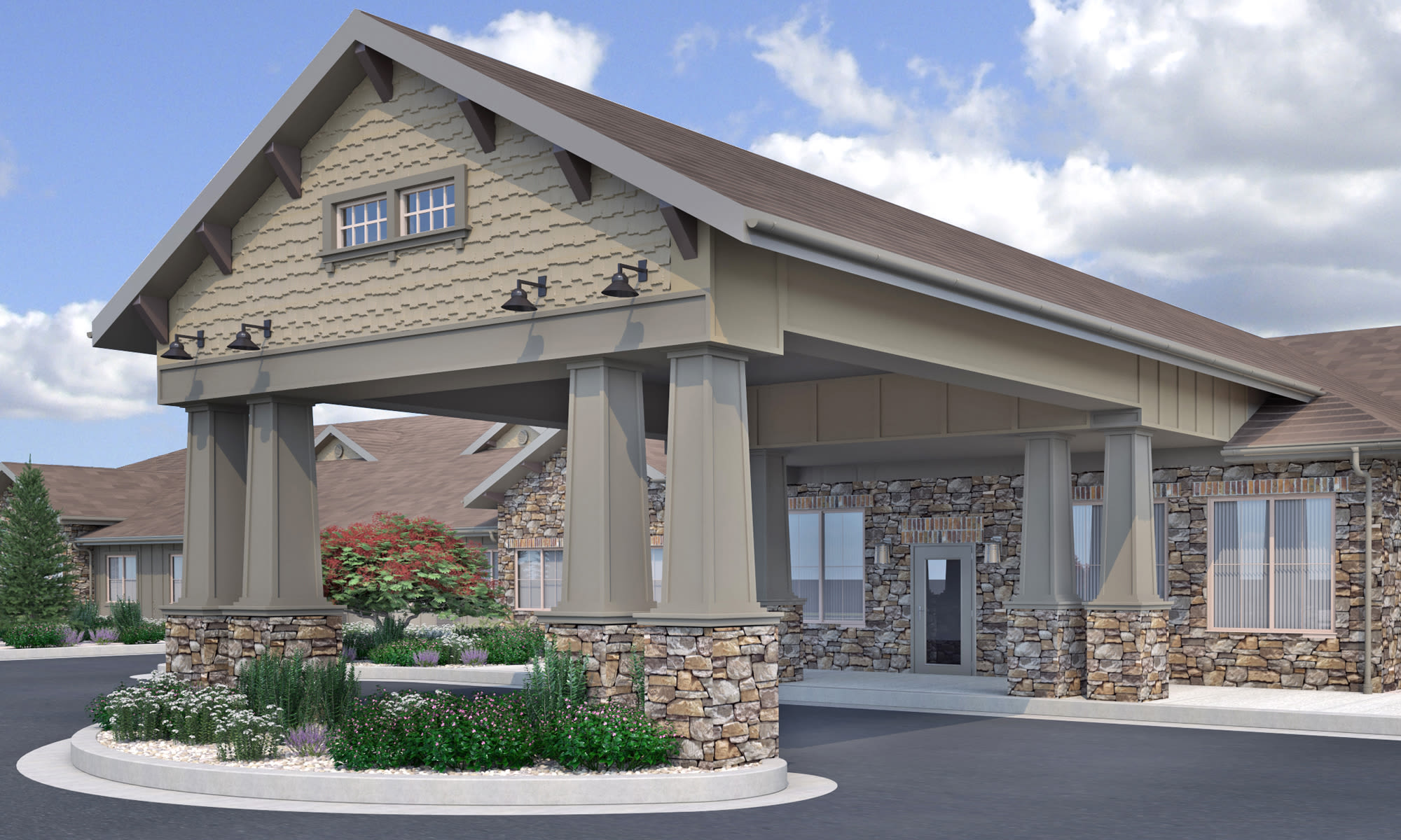 Deer Ridge Memory Care exterior in Puyallup, Washington