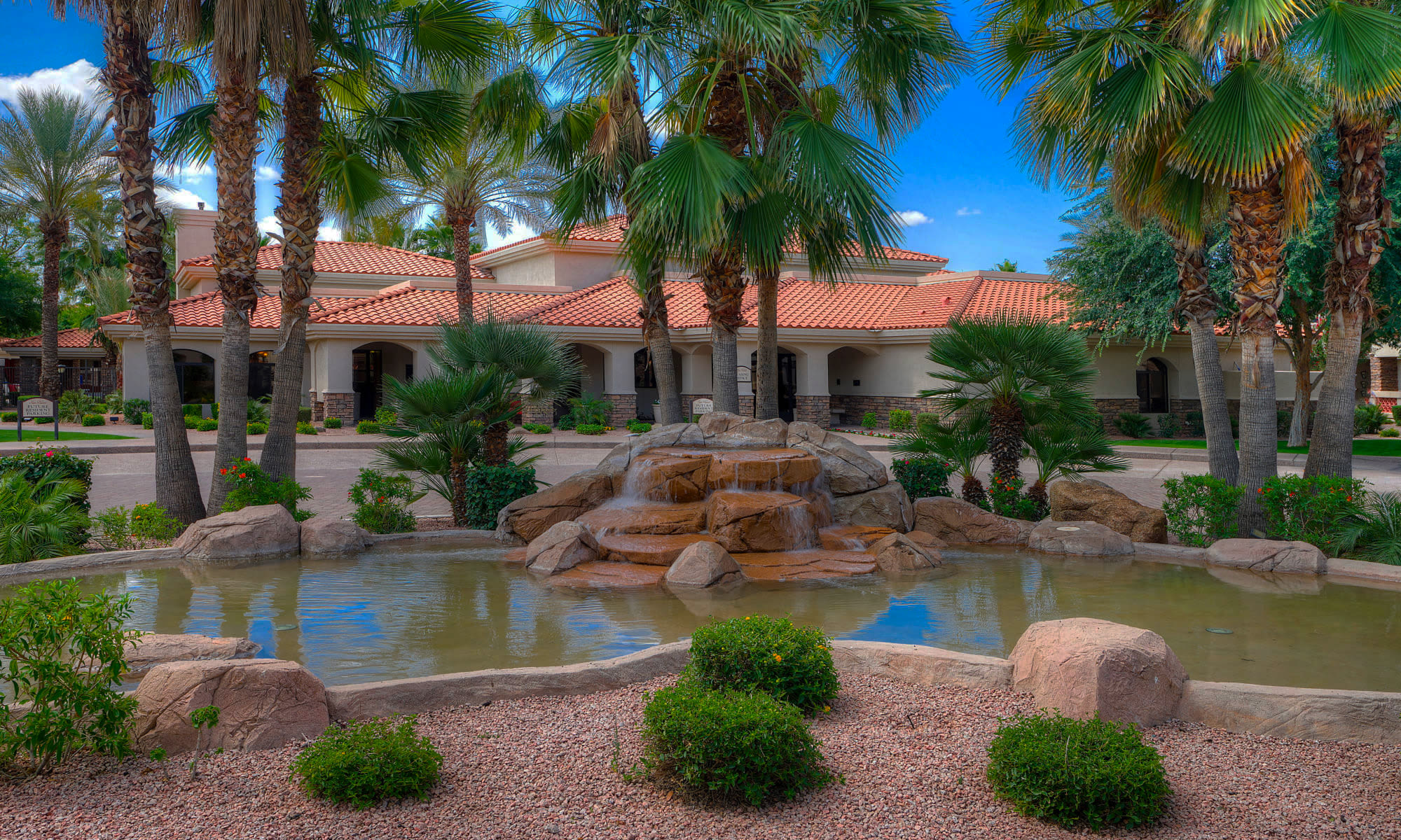 Apartments in Chandler, Arizona, at San Palacio
