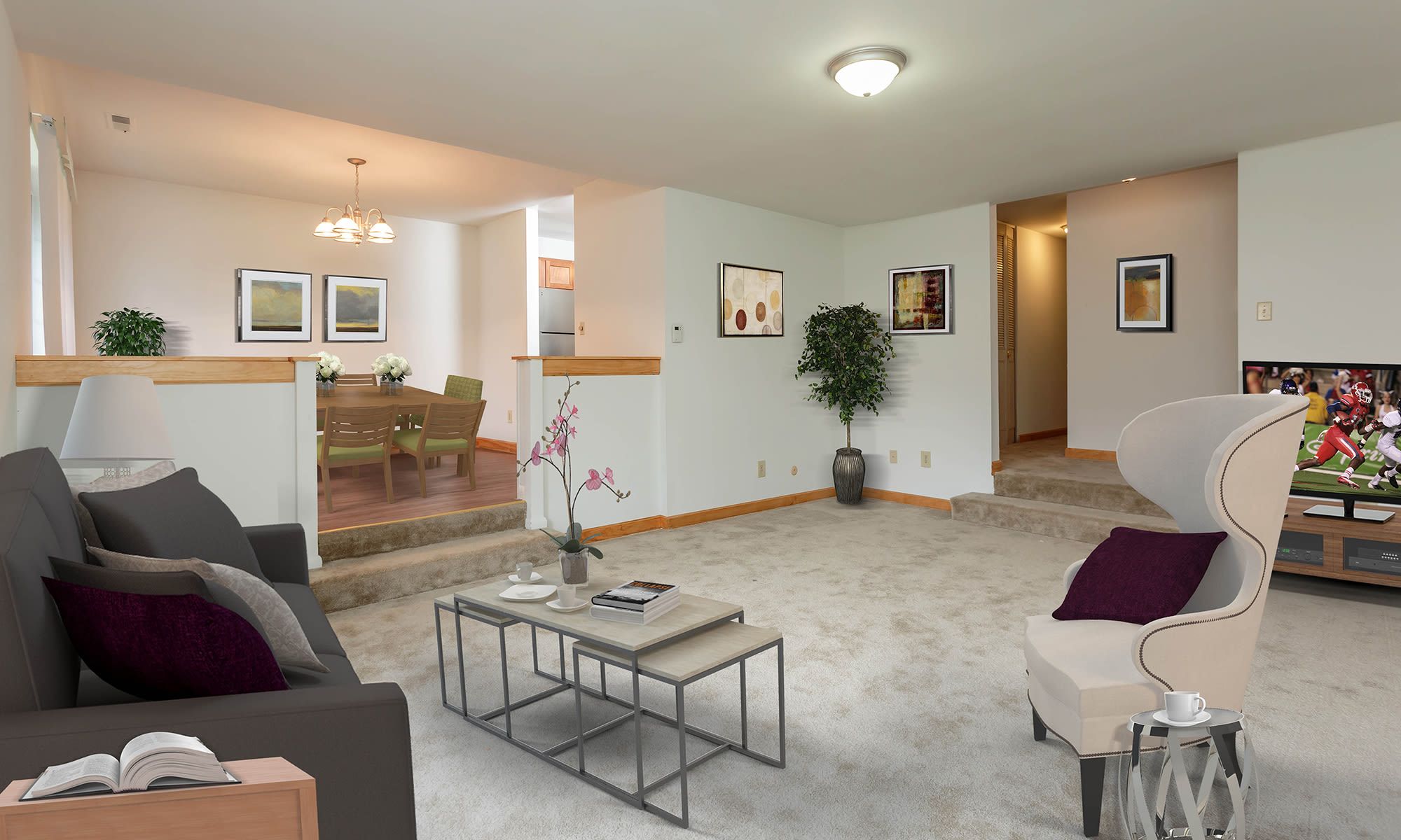 Apartments at Meadowbrook Apartments in Slingerlands, New York