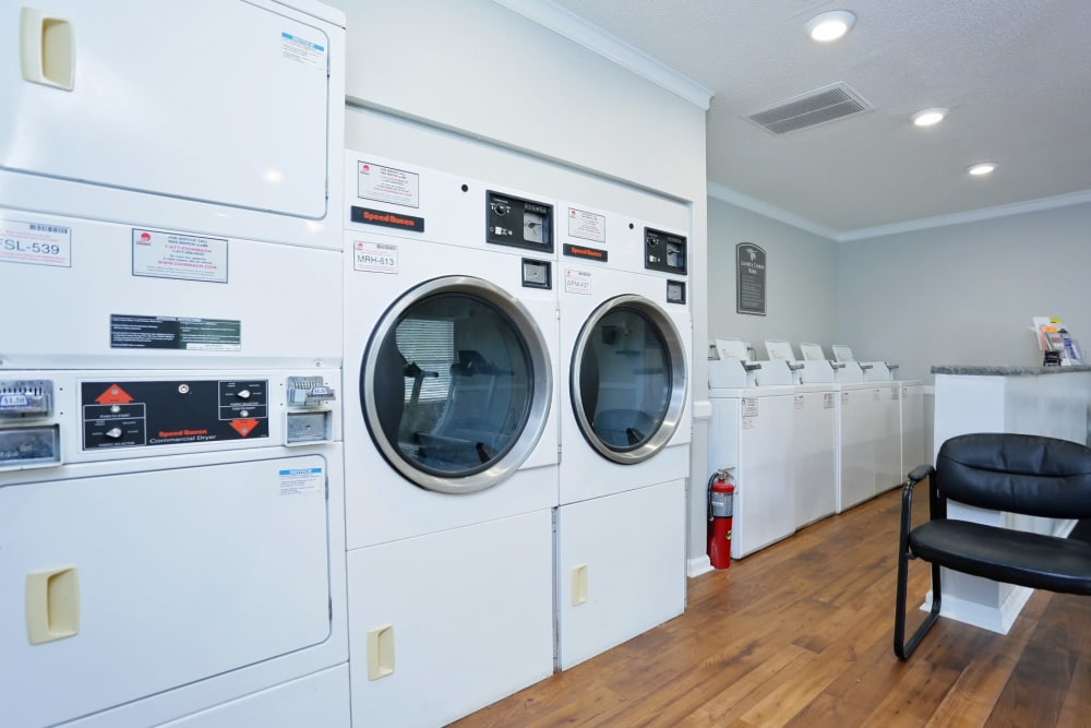 Laundry facility at Madison Pines in Madison, Alabama