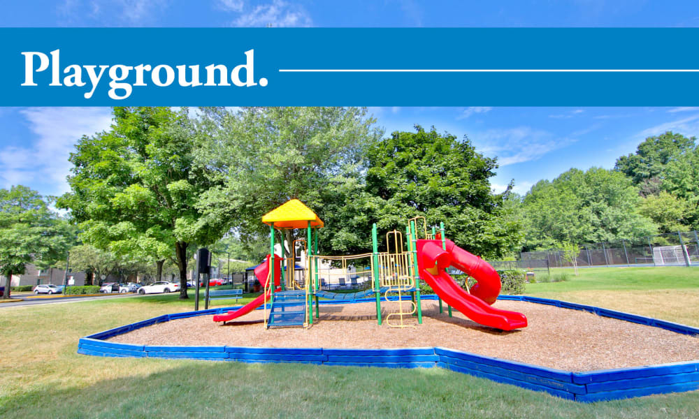 Beautiful playground at apartments in Largo, Maryland