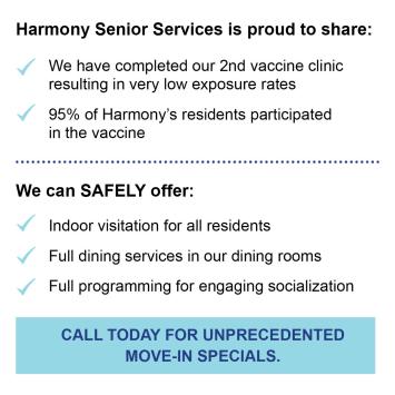 Vaccine at Harmony at Morgantown