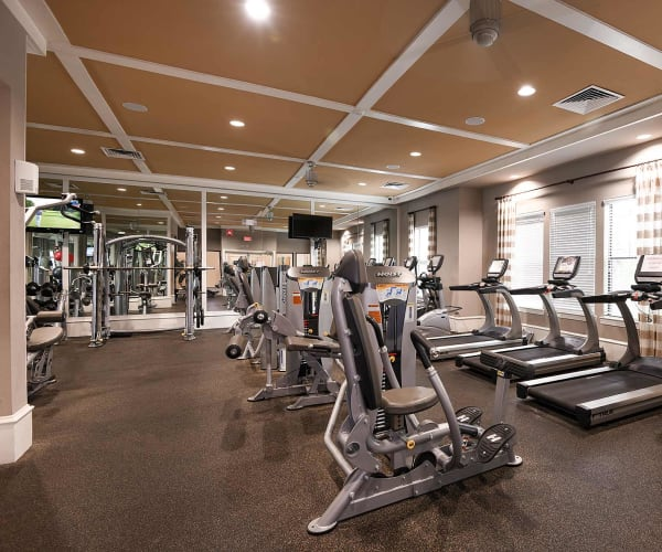 Gym at Terraces at Town Center in Jacksonville, Florida