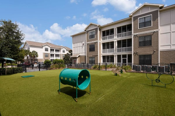 pet park at Terraces at Town Center in Jacksonville, Florida