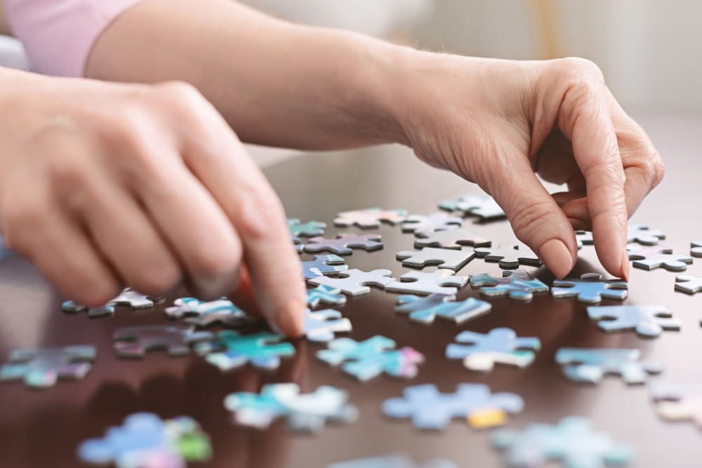 Puzzle at Broadwell Senior Living in Plymouth, Minnesota