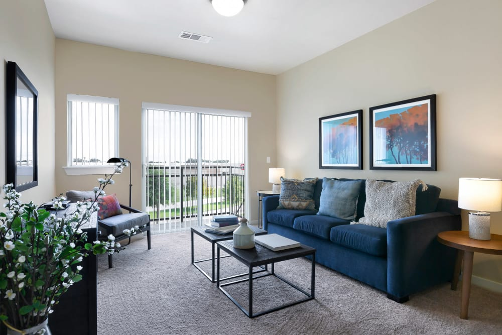 Affinity at Southpark Meadows living room