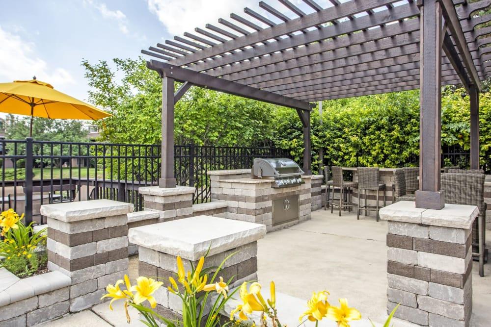 Our apartments in Aurora, Illinois showcase a beautiful bbq area