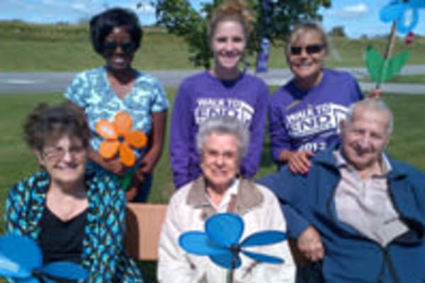 The 2012 Memory Walk at Senior Commons at Powder Mill in York, Pennsylvania