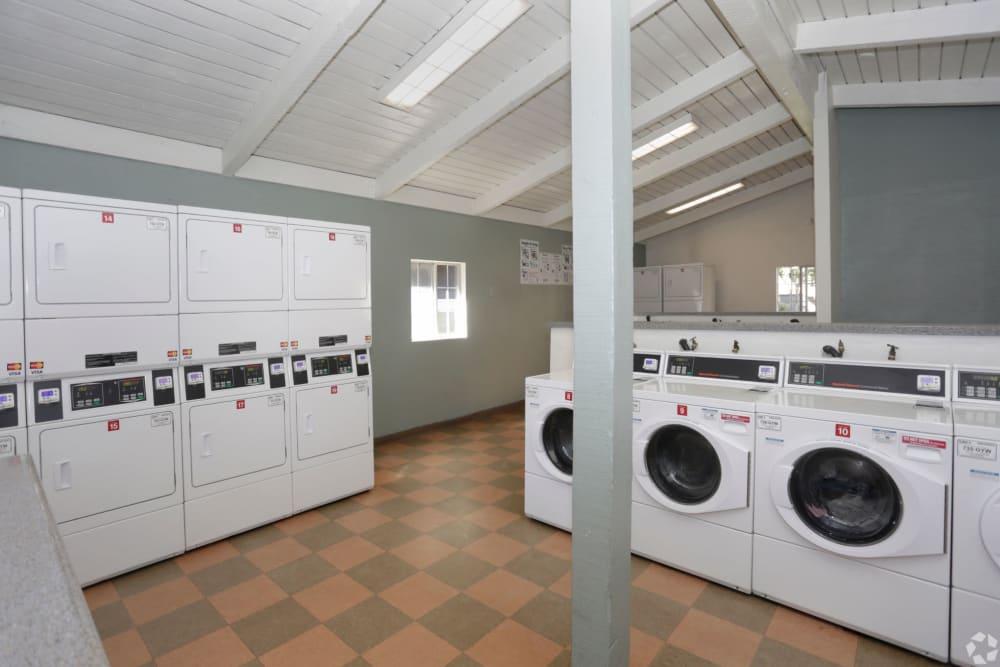 Laundry facility at Olive Ridge in Pomona, California