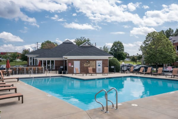 Sparkling Pool at Palmetto Place in Fort Mill, South Carolina