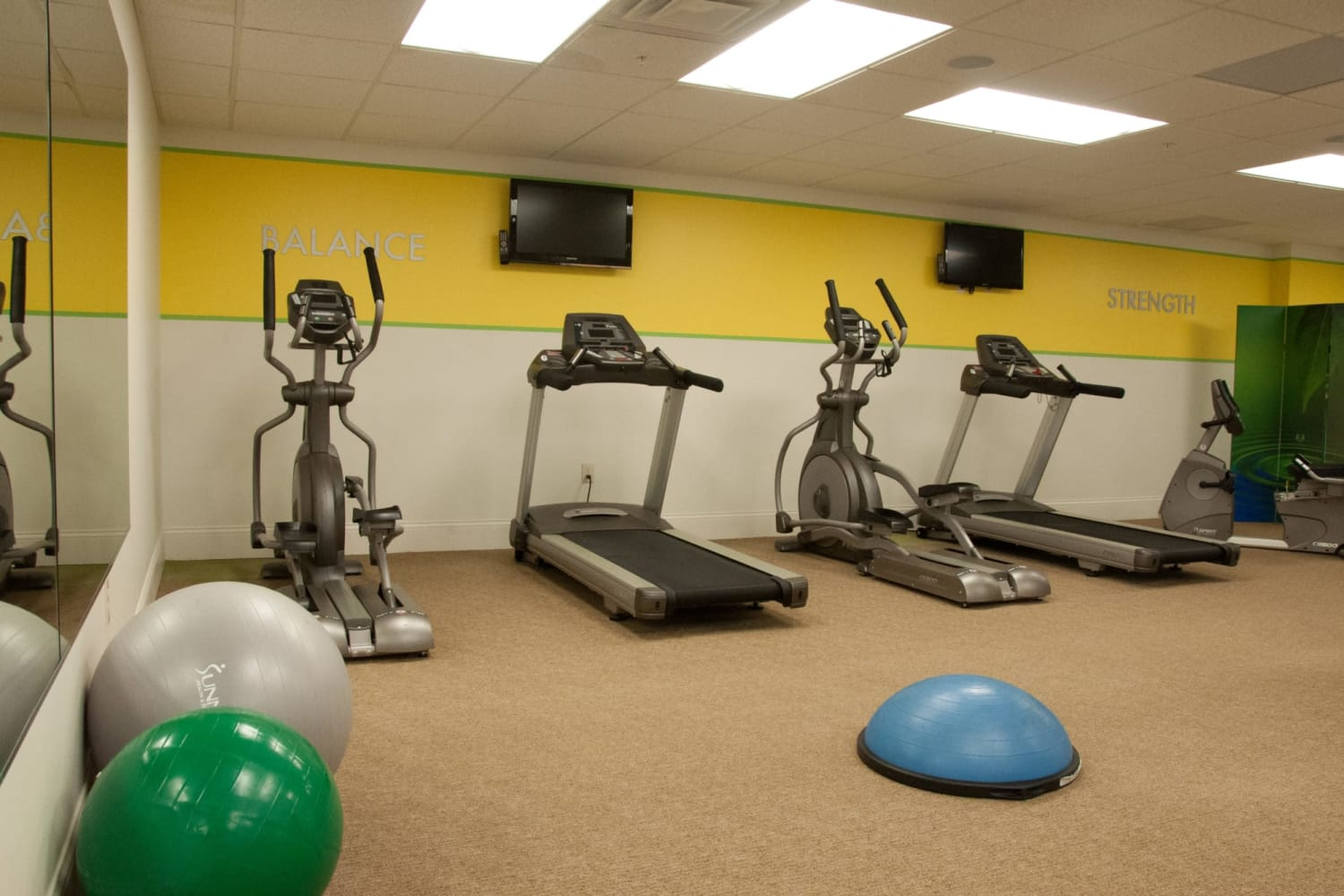 The Reserve at 4th and Race fitness center