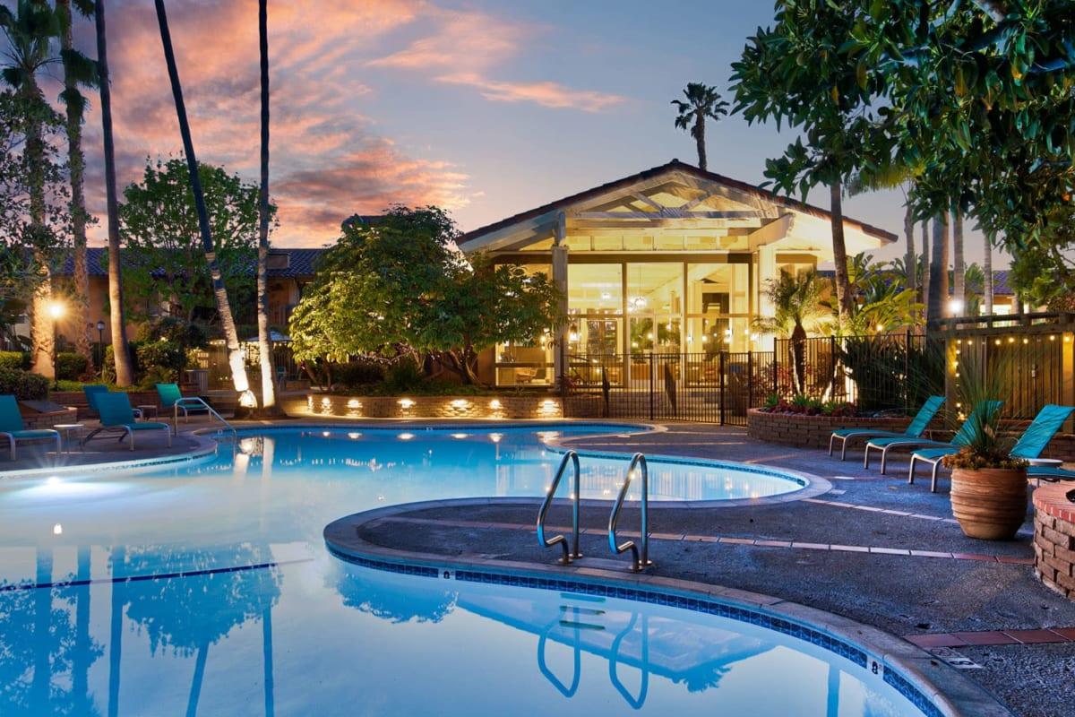 View our Mediterranean Village Apartments property in Costa Mesa, California