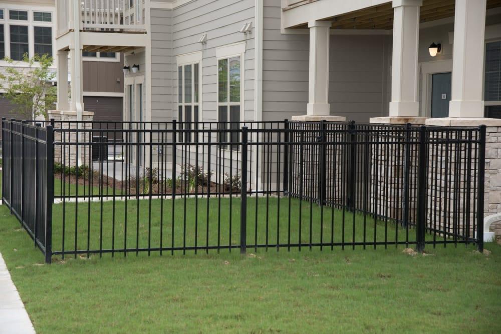 Fenced in yard at Springs at Juban Crossing