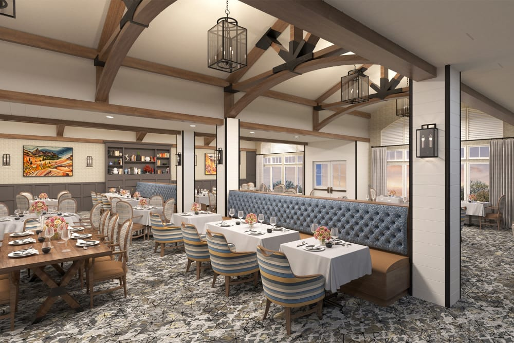 Main Dining Room Rendering