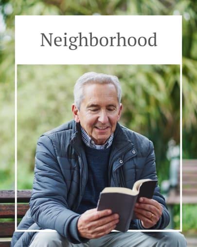 Explore the Neighborhood at Autumn Grove Cottage at Stone Oak in San Antonio, Texas