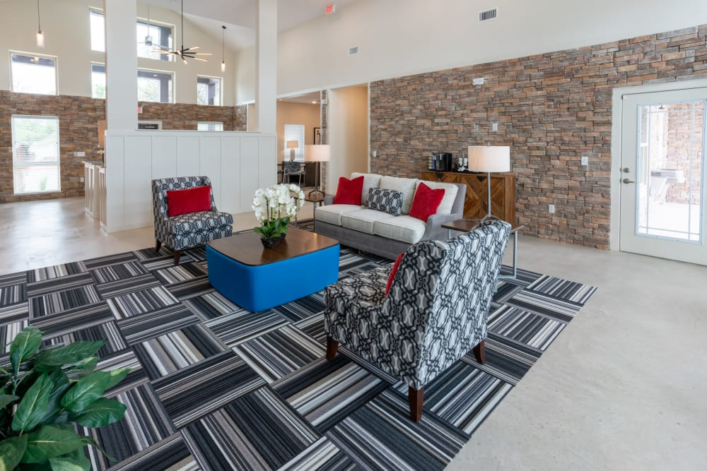 Lounge at Exeter Place in San Antonio, Texas