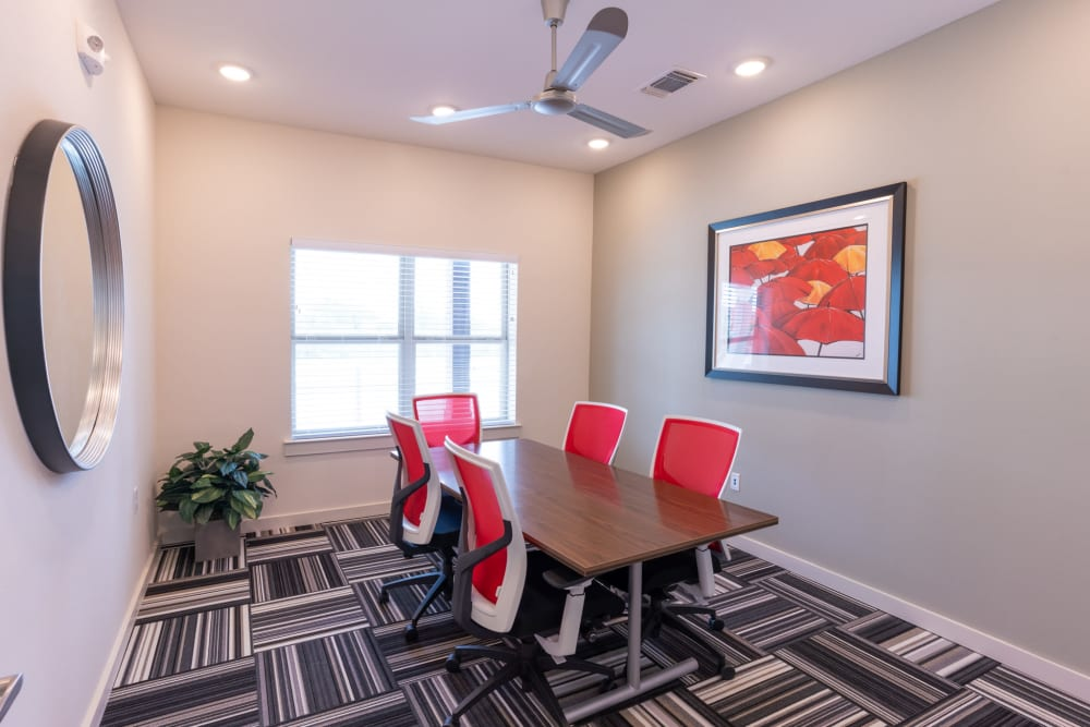 Conference Room at Exeter Place in San Antonio, Texas
