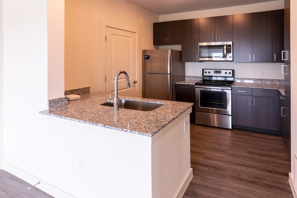Kitchen at Exeter Place in San Antonio, Texas