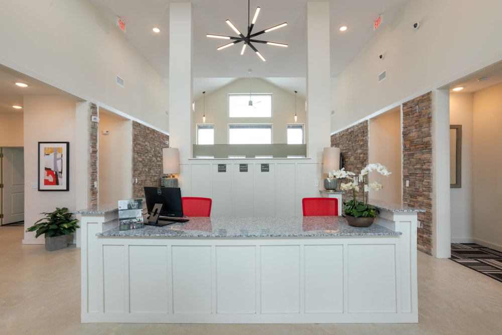 Leasing Center at Exeter Place in San Antonio, Texas