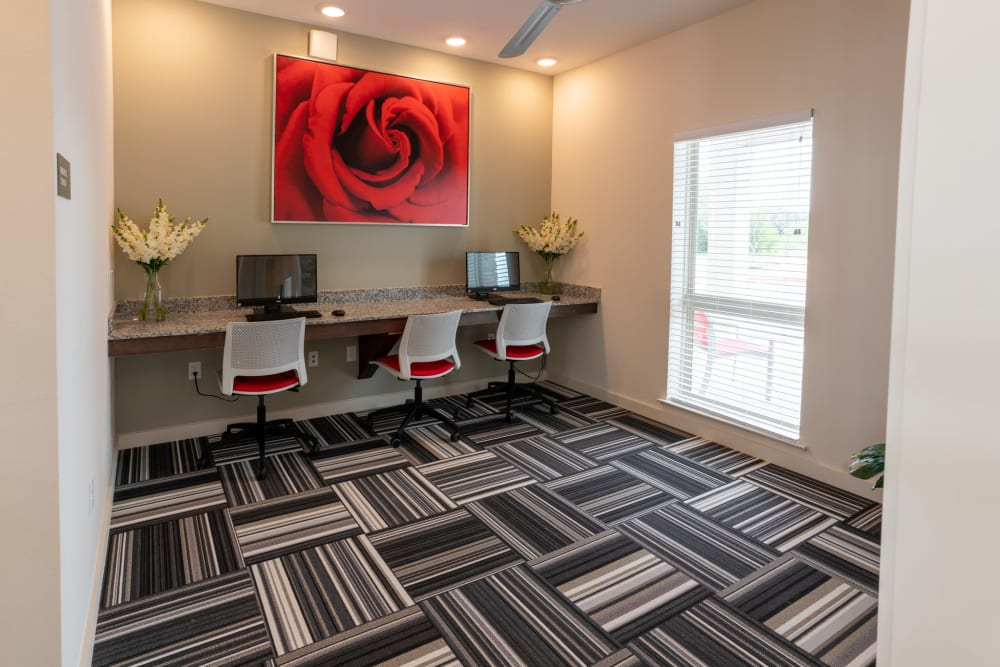 Business Center at Exeter Place in San Antonio, Texas