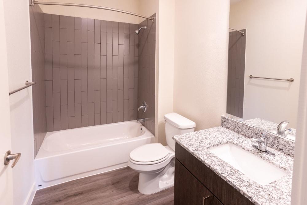 Bathroom at Exeter Place in San Antonio, Texas