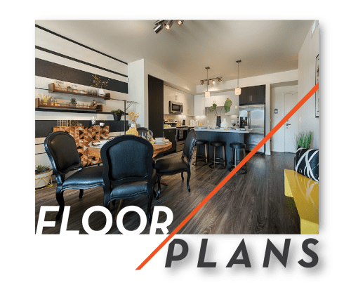 View Floor Plans at The TOMSCOT in Scottsdale, Arizona