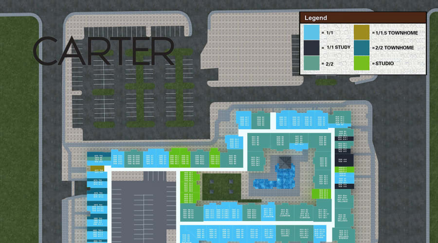 Carter site plan