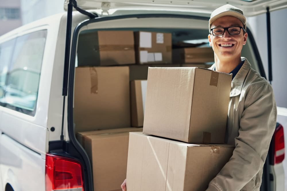 Package delivery at our self storage facility in Colorado Springs, Colorado