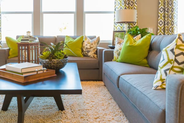 Our apartments in Brampton, Ontario showcase a beautiful living room