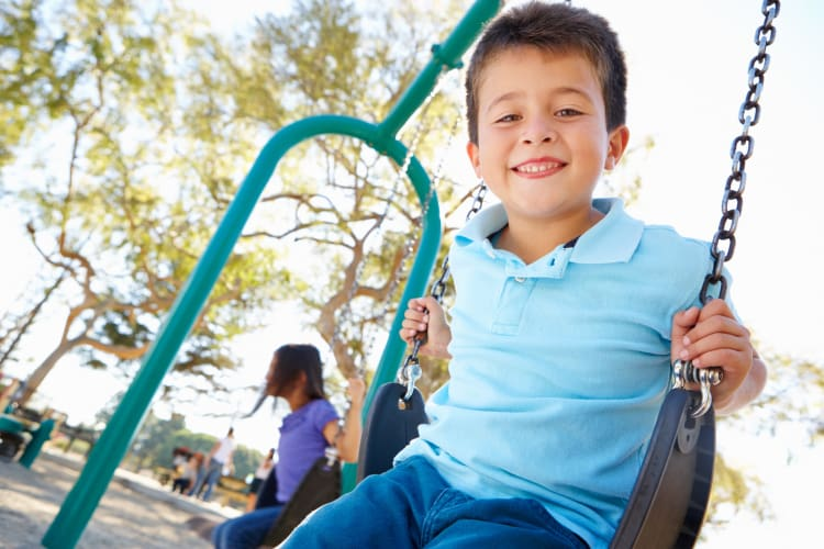Playground at Whitestone Village Apartment Homes