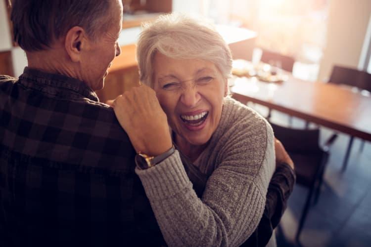 Residents dancing at BPM Senior Living