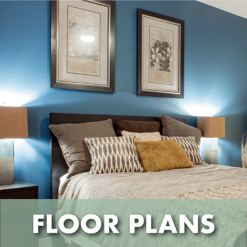 Link to floor plans at The Residences at Stadium Village in Surprise, Arizona