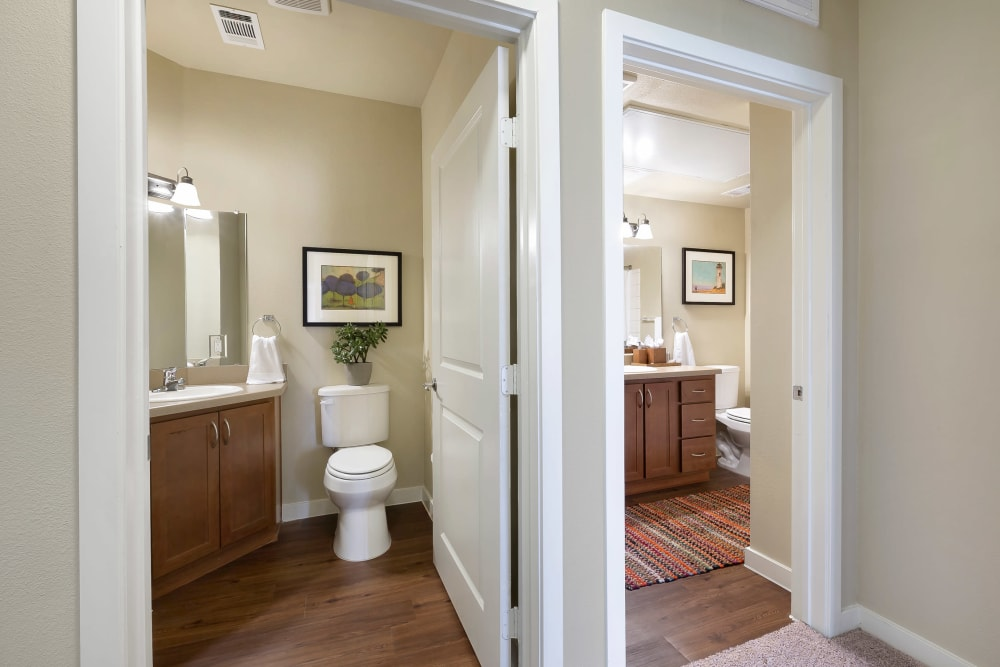 Affinity at Southpark Meadows home with a washer and dryer