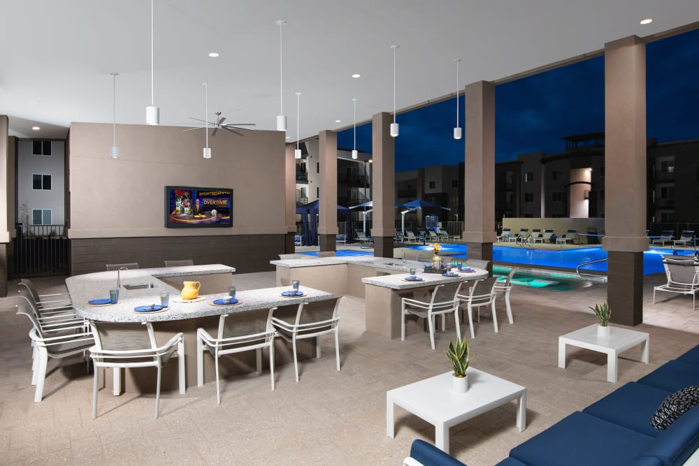 Beautiful Outdoor Lounge at Sky at Chandler Airpark in Chandler, AZ
