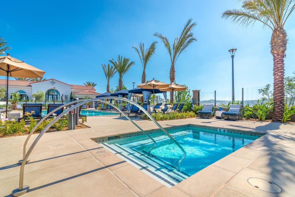 Swimming pool at Montecito Apartments at Carlsbad in Carlsbad, California