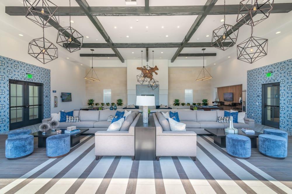 New renovated club house at Montecito Apartments at Carlsbad in Carlsbad, California