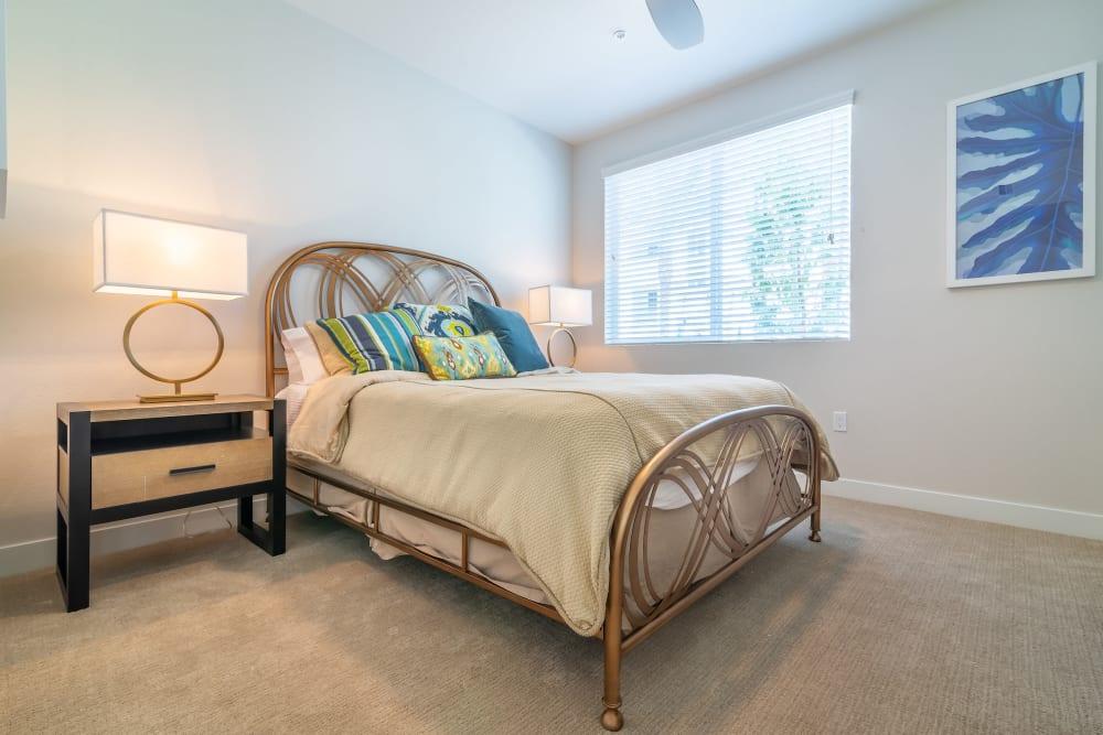 Bedroom at Montecito Apartments at Carlsbad in Carlsbad, California