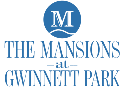 logo for The Mansions at Gwinnett Park Assisted Living and Memory Care in Lawrenceville, Georgia