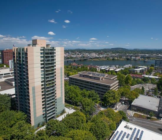 Harrison Tower in Portland, Oregon