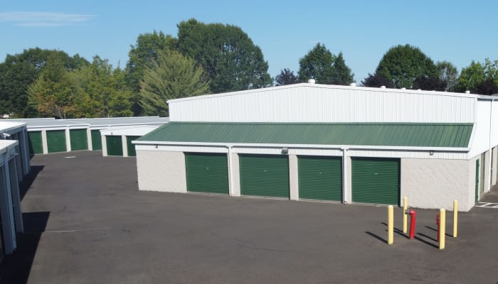 Drive-up storage units in a variety of sizes at A Storage Place in Tualatin, Oregon