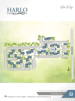 Site map of Harlo Apartments in Warren, Michigan