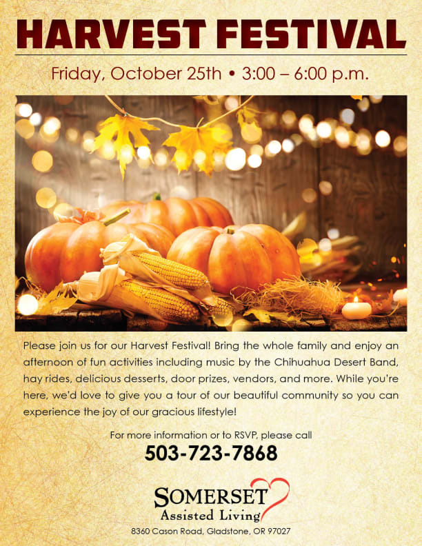 Open event at Somerset Assisted Living.