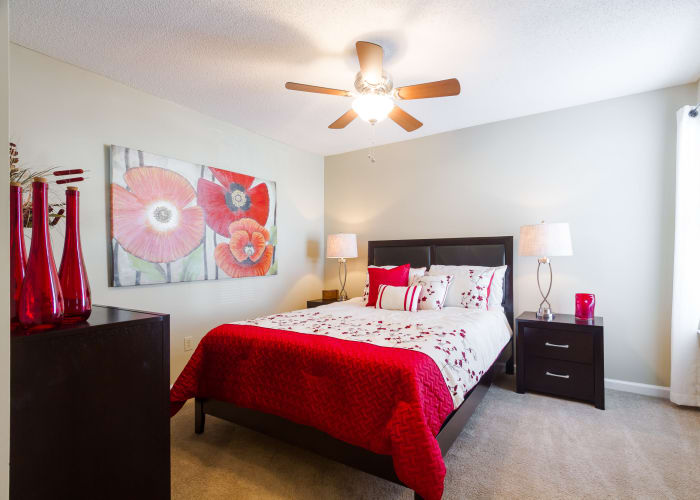 Apartment features at Castlegate Commons Apartments in Bonaire