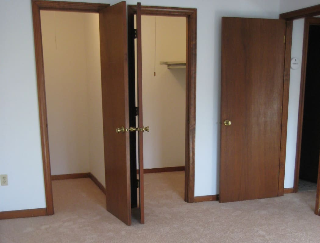 Walk-in Closet at Security Manor in Westfield