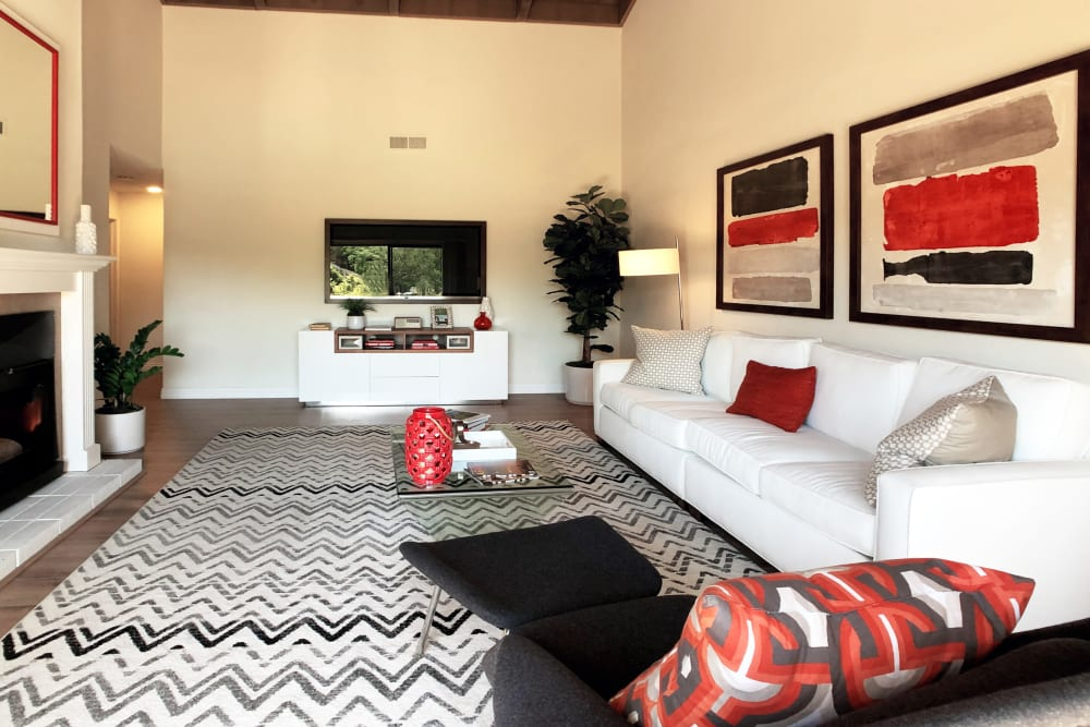 Space amenities at Glenbrook Apartments in Cupertino, California