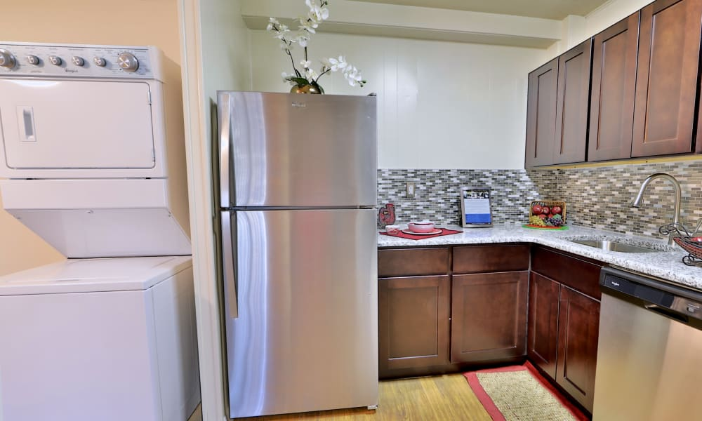 Kitchen at Westerlee Apartment Homes in Baltimore, MD