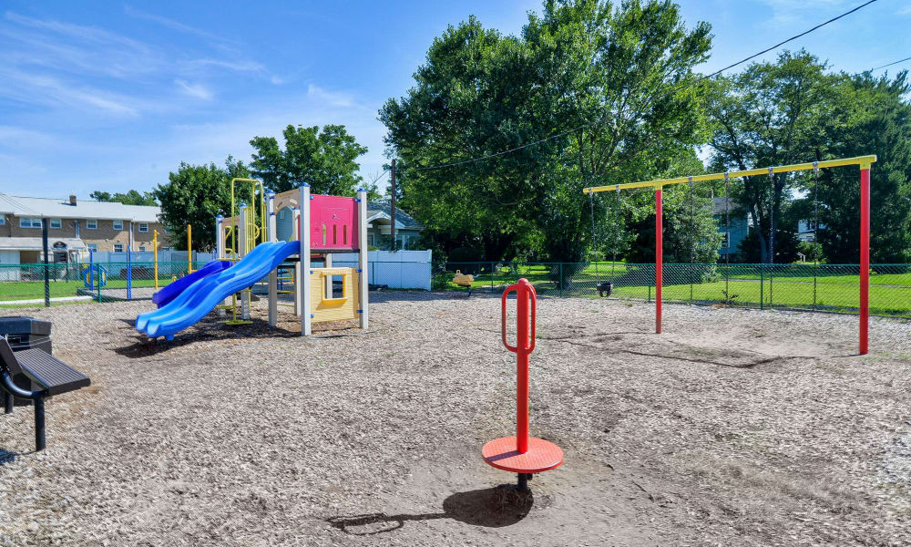Vineland Village Apartment Homes offers a playground in Vineland, New Jersey